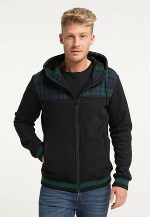 Zip-up hoodie - marine grün