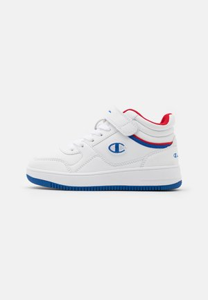 MID CUT SHOE REBOUND VINTAGE UNISEX - Basketball shoes - white/royal blue/red