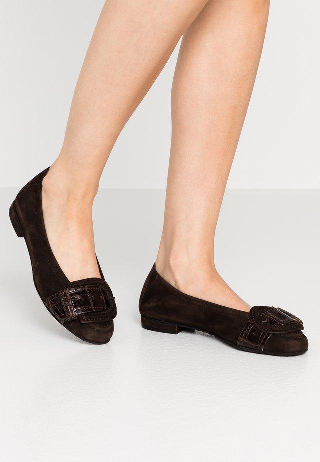 MALU - Ballet pumps - mocca/braun