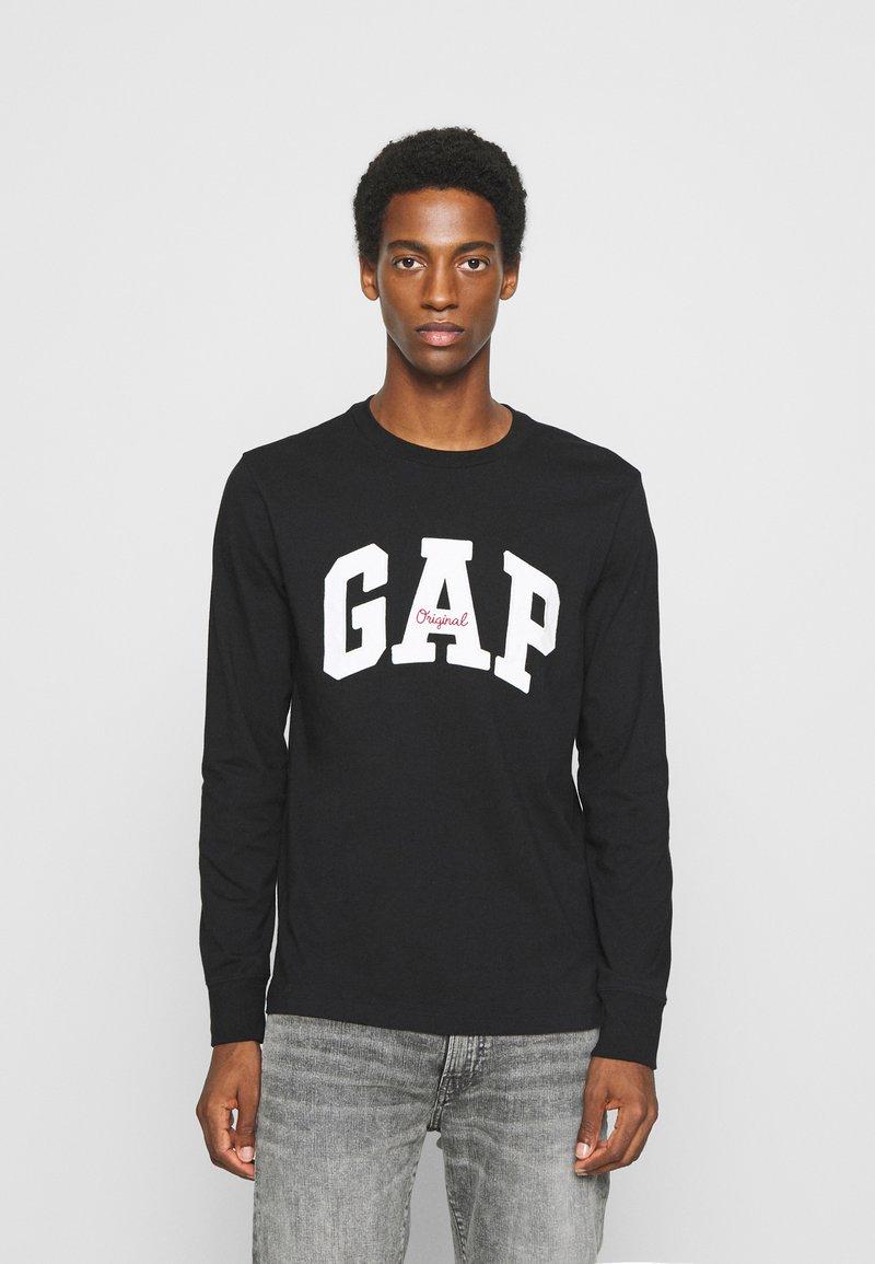 GAP - ARCH - Long sleeved top - true black