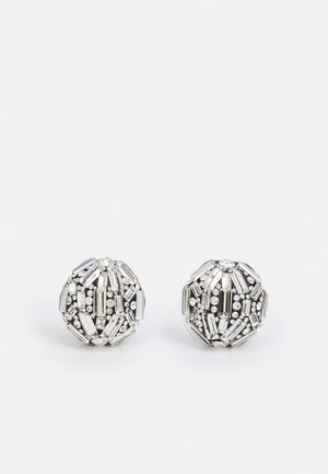 BAGUETTE STATEMENT STUDS CLEAR UNSIZED - Earrings - clear