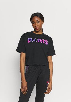 JORDAN PARIS ST GERMAIN TEE  - Club wear - black