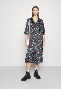 Monki - AMANDA DRESS - Day dress - black - 1
