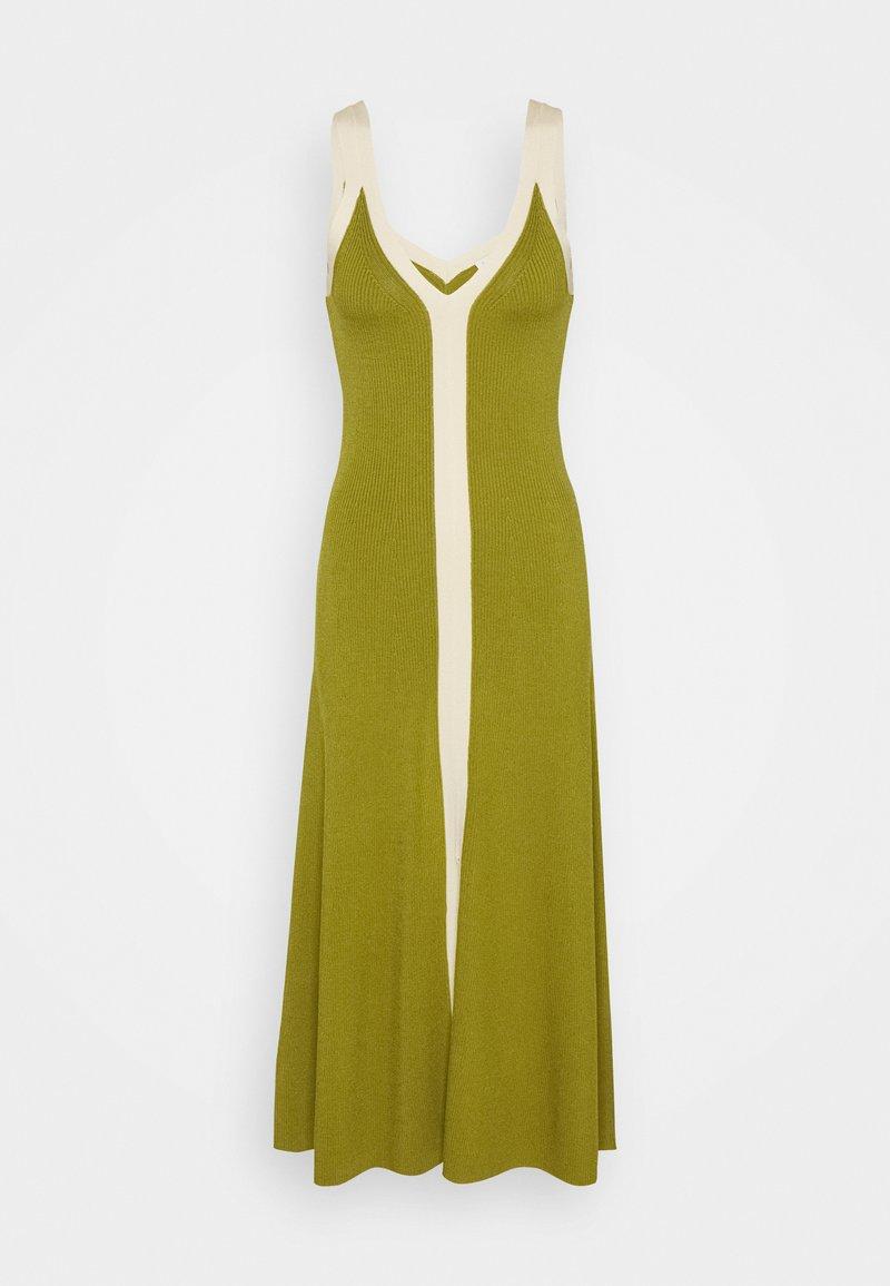 sandro - Jumper dress - olive