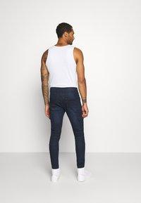 Brave Soul - ARCHIE - Cargo trousers - dark blue wash - 2