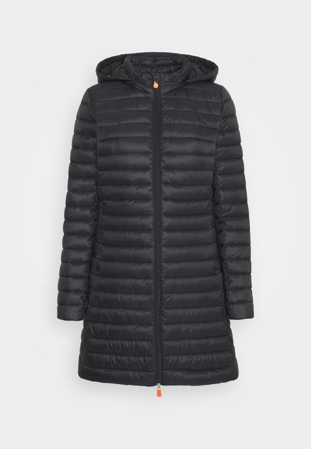 GIGA BRYANNA DETACHABLE HOODED - Winter coat - black