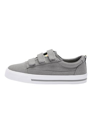WHITE STRAP TOUCH FASTENING SHOES (OLDER) - Tenisky - grey