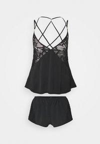 Bluebella - CELIA CAMI AND SHORT SET - Pyjamas - black - 0