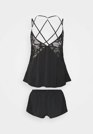 CELIA CAMI AND SHORT SET - Pyjamas - black