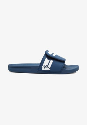 RIVI SLIDE ADJUST  - Sandały kąpielowe - blue/blue/white