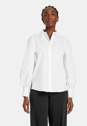 LANGARM  - Button-down blouse - weiß/weiß