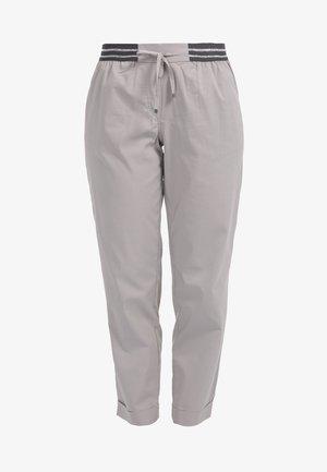 GLITZEREFFEKT - Trousers - grau