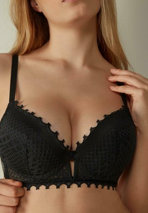 SUPER SIMONA BREATHTAKING - Push-up bra - nero