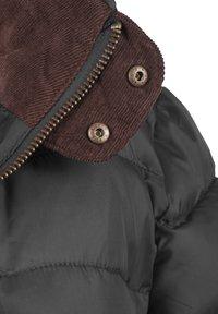 Blendshe - STEPPMANTEL CARLOTTA - Winter coat - metallic grey - 4