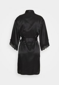Boux Avenue - DARCIE TRIM ROBE - Dressing gown - black - 1