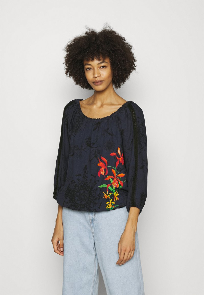 Desigual - Blouse - blue