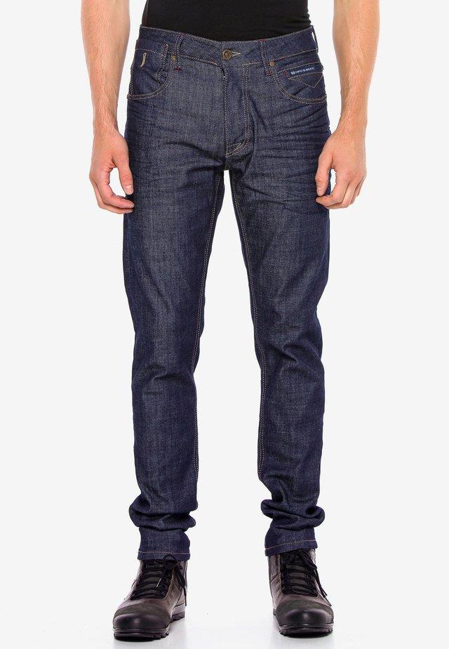 EVERYDAY RAW - Slim fit jeans - indigo