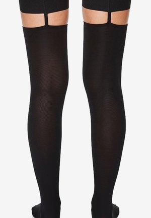 STAY UPS  - Over-the-knee socks - black
