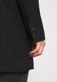 Only & Sons - ONSJULIAN STAR COAT - Classic coat - black - 6