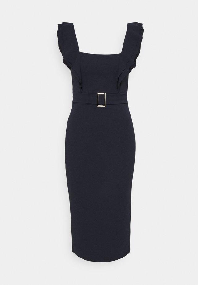 HUNTER BUCKLE DRESS - Cocktail dress / Party dress - navy