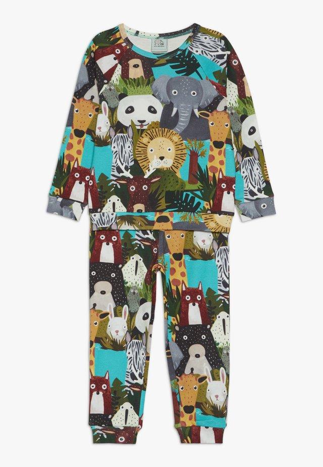 BOYS - Pyjama - multi coloured/mint