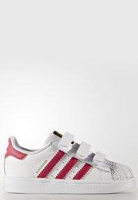 adidas Originals - SUPERSTAR CF  - Baby shoes - white/bold pink - 5