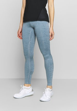 ONE - Tights - valerian blue/white