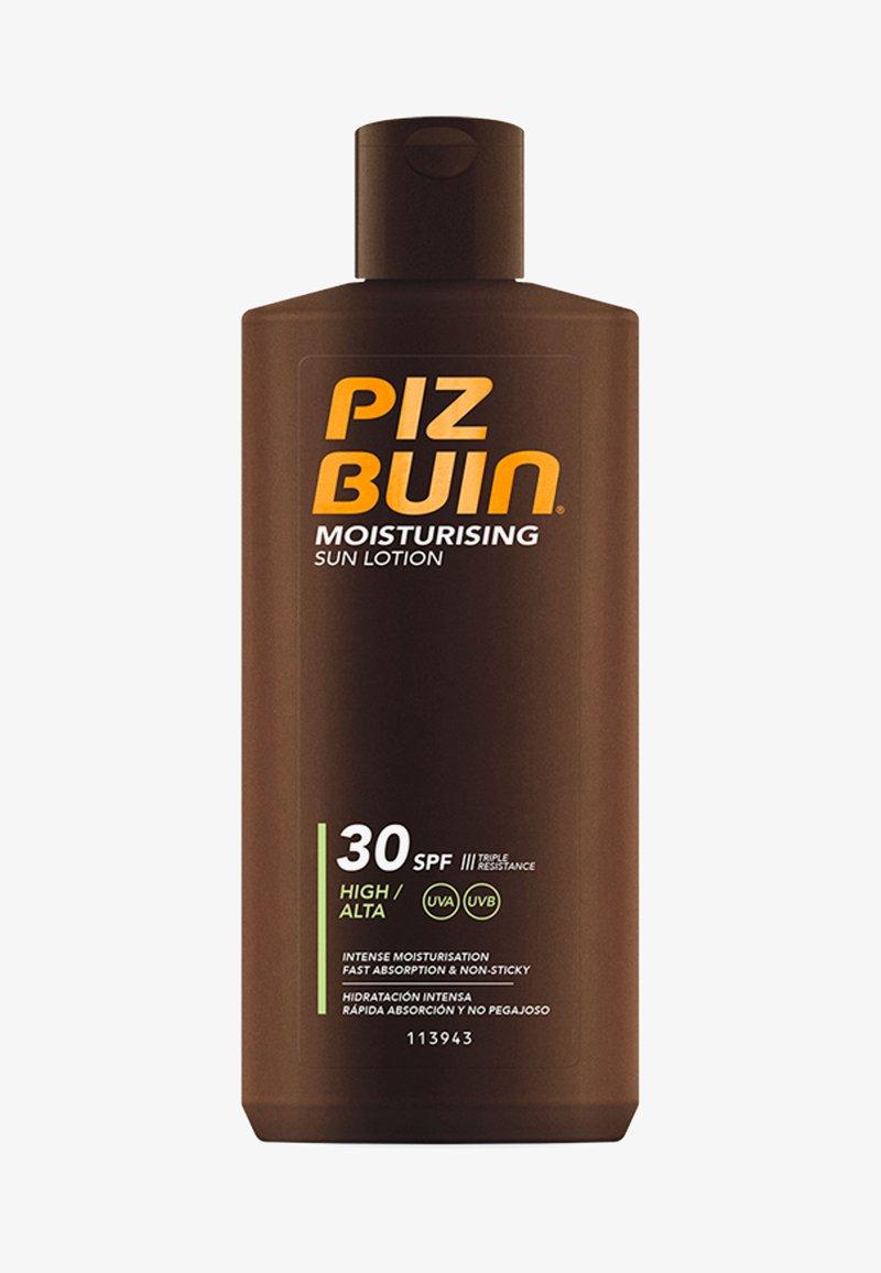 Piz Buin - SONNENSCHUTZ MOISTURISING SUN LOTION LSF 30 - Moisturiser - weiß