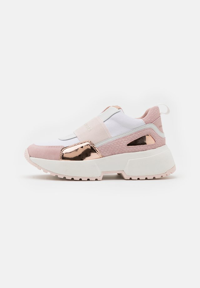 ZIA COSMO ROUEN - Nazouvací boty - white/soft pink