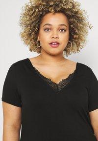 Anna Field Curvy - T-shirt basique - black - 3
