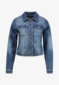 Cream - Jeansjakke - rich blue denim - 5