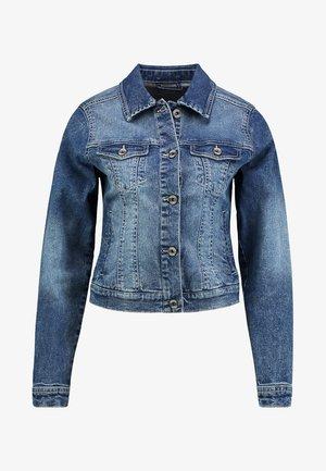Jeansjakke - rich blue denim