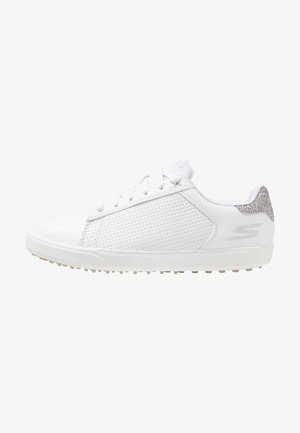 GO GOLF DRIVE SHIMMER - Golf shoes - white/silver