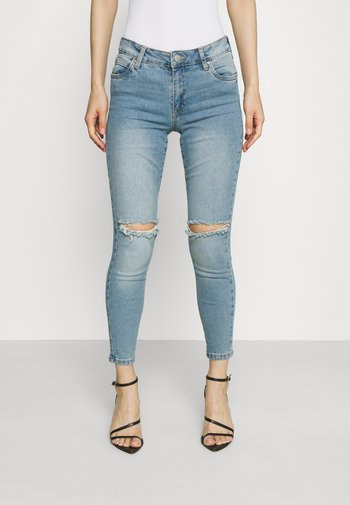 MID RISE CROPPED - Jeans Skinny Fit - venice blue