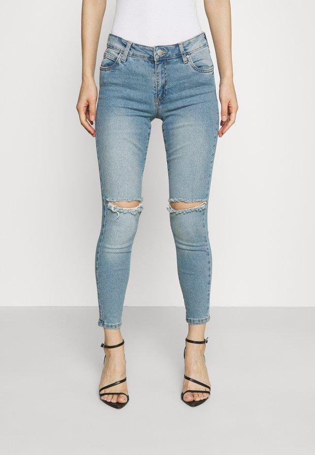 MID RISE CROPPED - Skinny džíny - venice blue