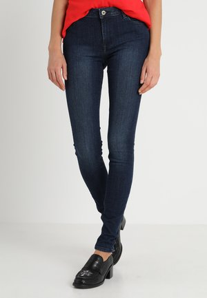 Farkkuleggingsit - blue dark wash
