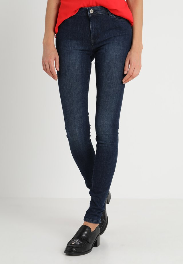 Jegging - blue dark wash