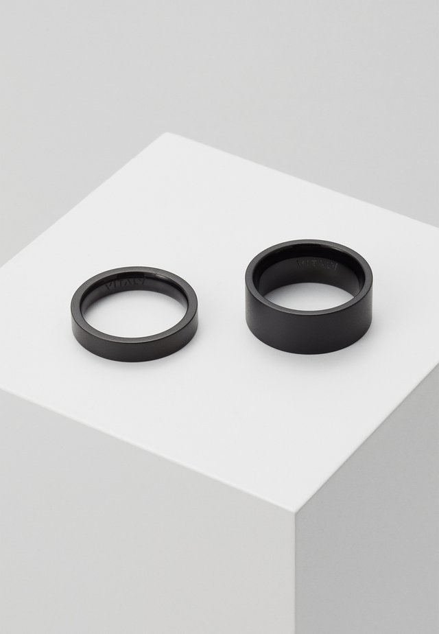GRIP UNISEX SET - Bague - black