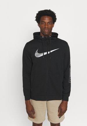 ENERGY - Zip-up sweatshirt - black/iron grey