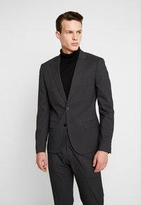 Antony Morato - SLIM JACKET BONNIE PANTS  - Kostym - black - 2