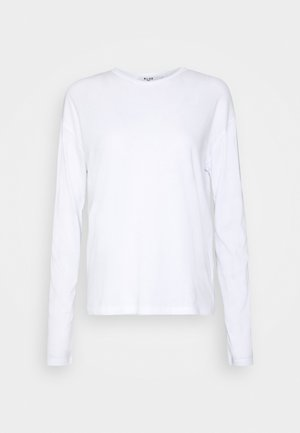 LONG SLEEVE BASIC - Topper langermet - white