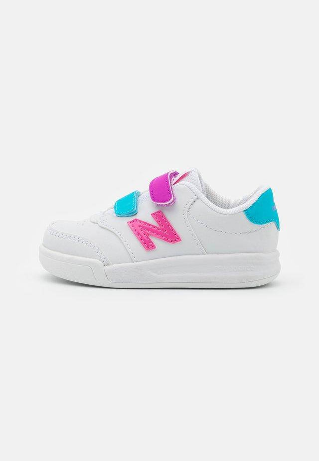 IVCT60KL UNISEX - Sneakersy niskie - white/lolipop