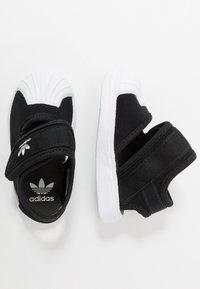 adidas Originals - SUPERSTAR 360 - Chaussures premiers pas - core black/footwear white - 0
