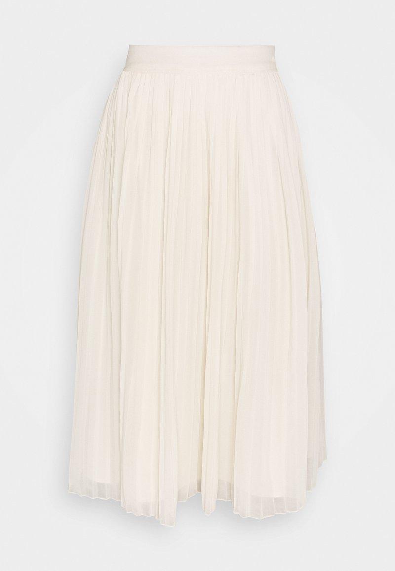 NA-KD - PLEATED SKIRT - Áčková sukně - white