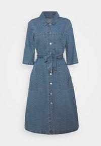 JDY - JDYATHENA BELT DRESS - Denim dress - light blue denim - 0