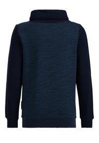 WE Fashion - MET TAPEDETAIL - Sweatshirt - dark blue - 1