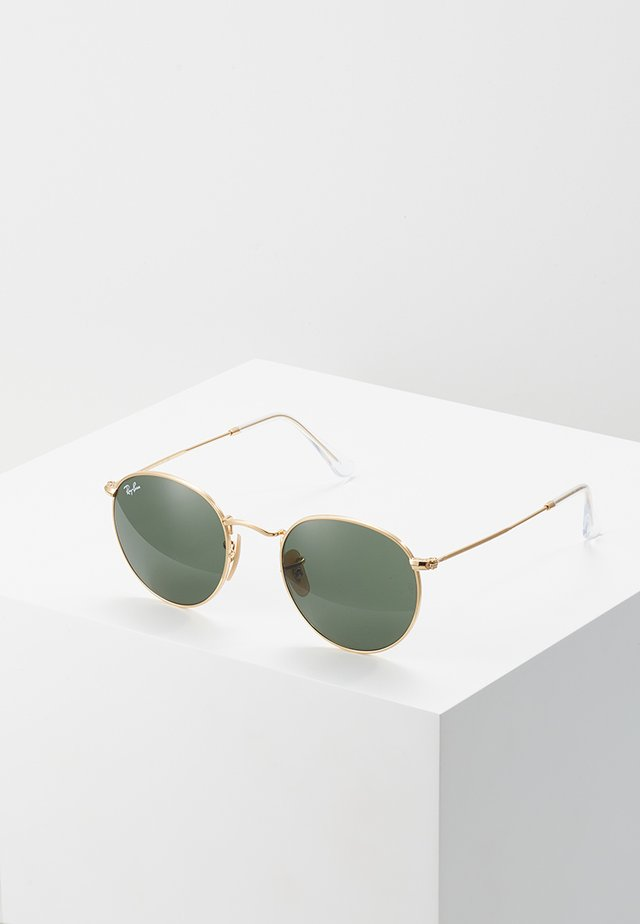 ROUND METAL - Sunglasses - grün
