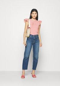 NAF NAF - MANGLAISE - T-shirt basique - rose des sables - 1