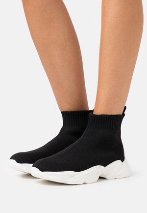 BIACASE HIGHTOP WARM  - High-top trainers - black