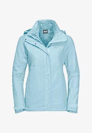 ECHO PASS WOMEN - Hardshell jacket - frosted blue